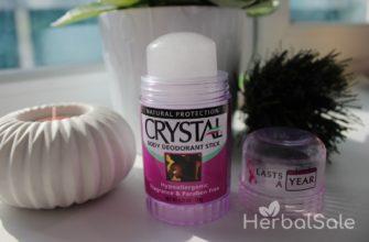 минеральный дезодорант кристалл