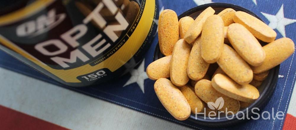 Мужские витамины Opti Men Optimum Nutrition