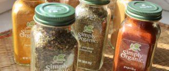 Натуральные Simply Organic специи и приправы фото