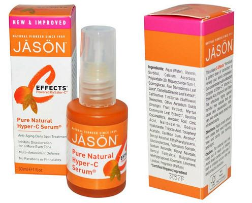 Jason Natural C-Effects Сыворотка с повышенной концентрацией витамина