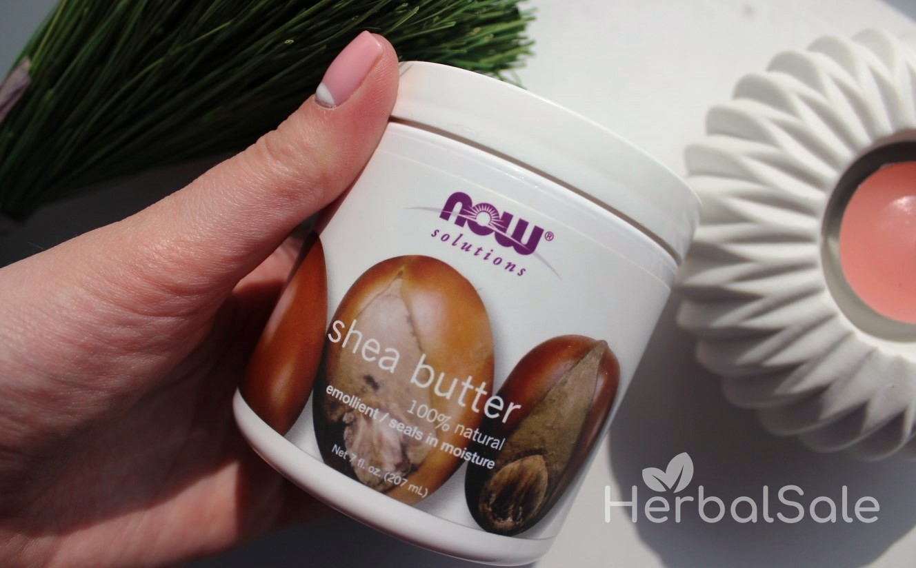 Натуральное масло Ши Now Foods Solutions