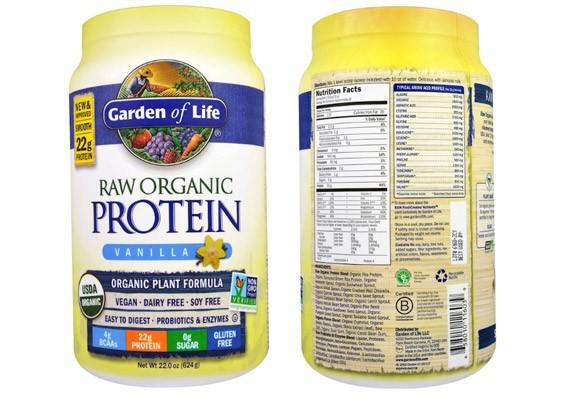 Органический протеин Garden of Life