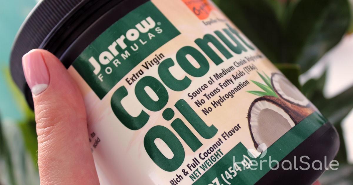 Органическое кокосовое масло Jarrow Formulas