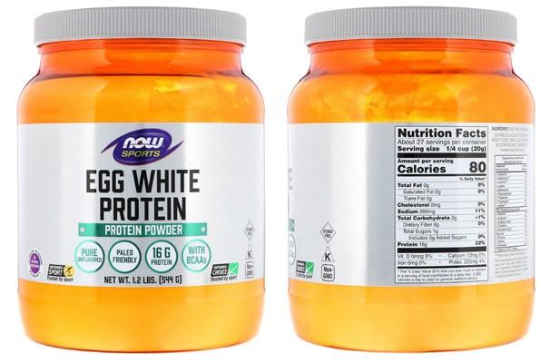 Протеин из яичного белка Now Foods
