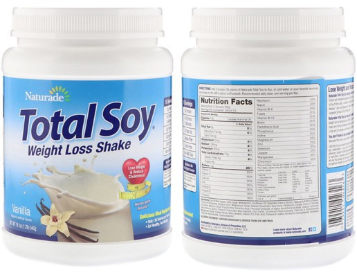 Соевый протеин Naturade Total Soy