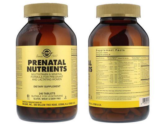 Солгар Пренатал для беременных