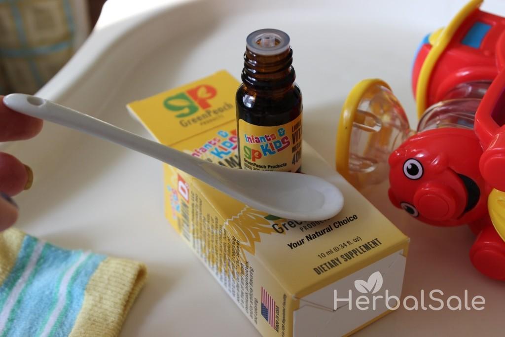iherb витамин д для детей