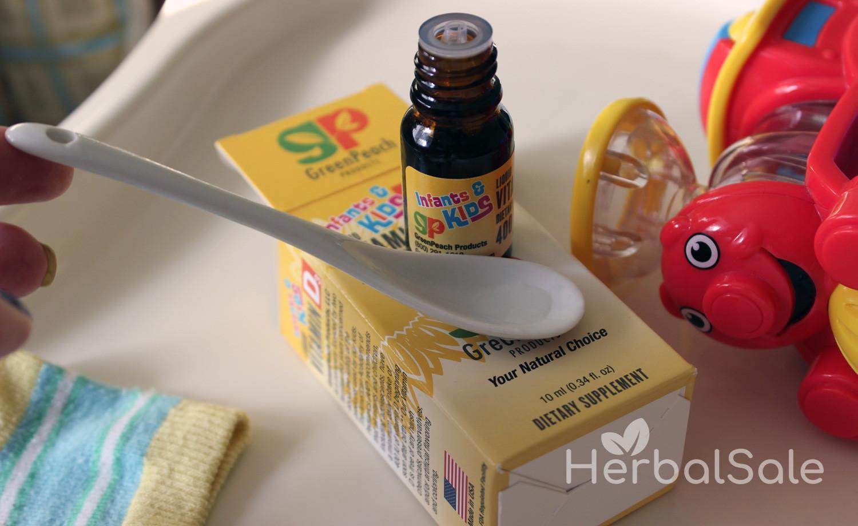 Витамины с iHerb для детей 1-2 лет