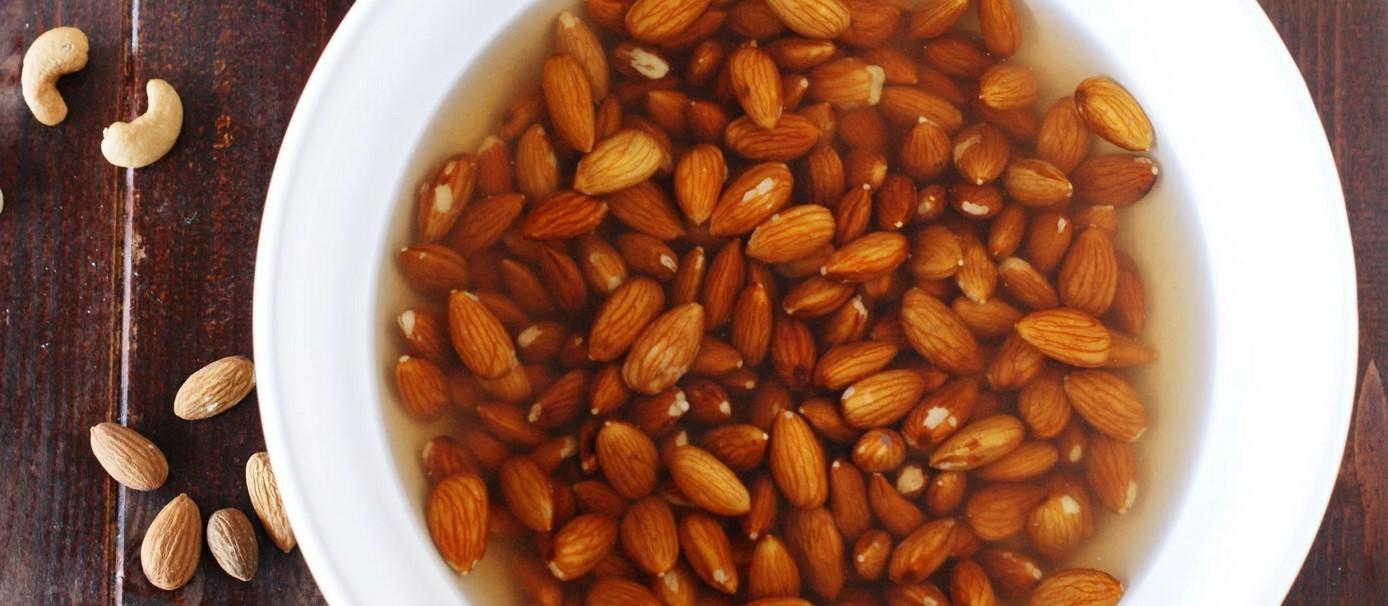 замачивание орех