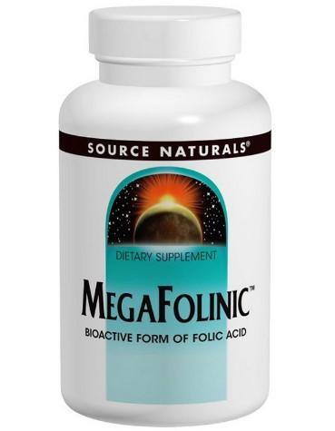 MegaFolinic фолиевая кислота iherb