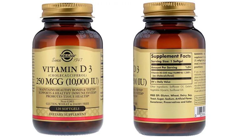 витамин д3 айхерб solgar