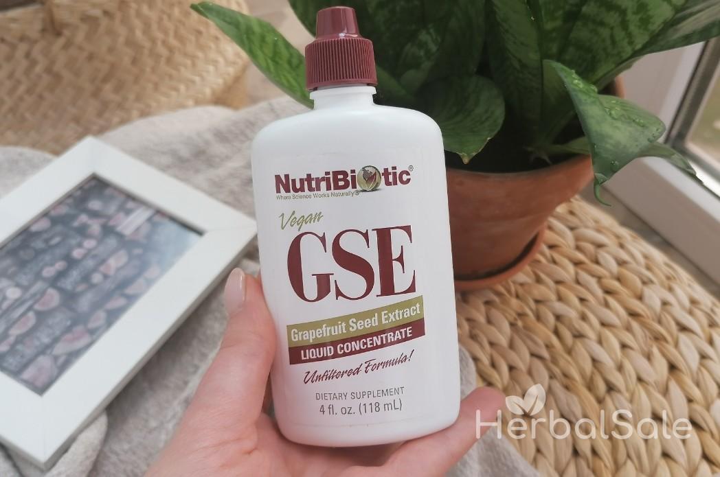 Жидкий концентрат GSE NutriBiotic