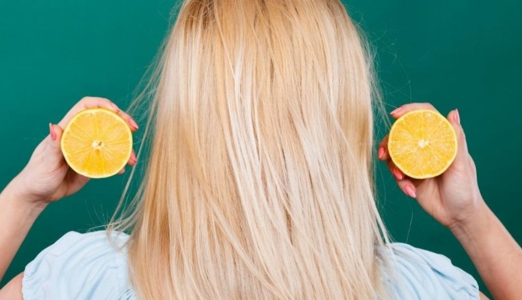 Эфирное масло лимона +для волос