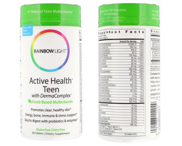 Мультивитамины для подростков