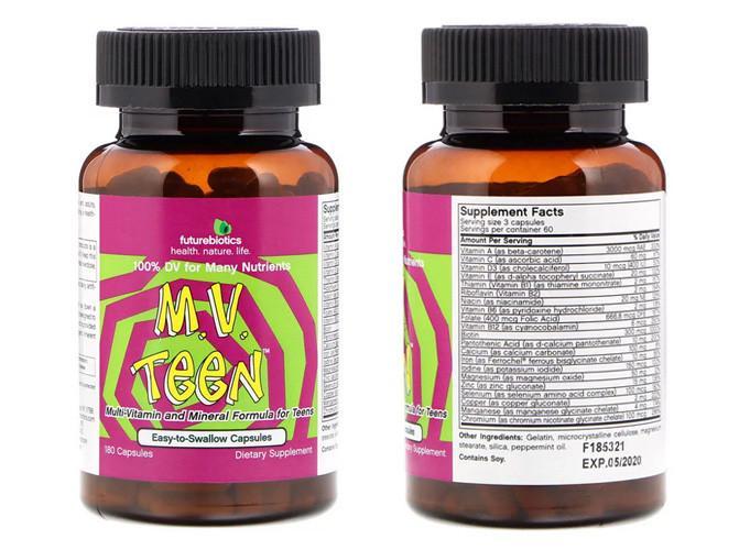 витамины для подростков 13 14 на айхерб
