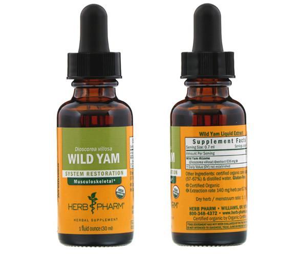 Жидкий дикий ямс Herb Pharm
