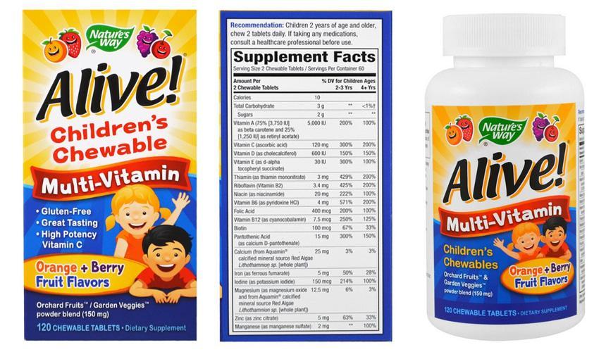 Детские мультивитамины