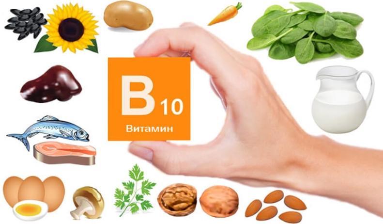 Витамин В10 в продуктах питания
