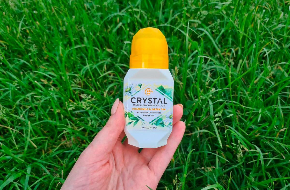 дезодорант crystal iherb