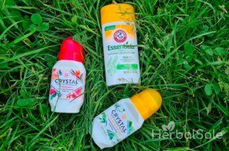 лучшие дезодоранты iherb
