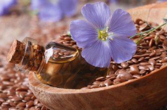 льняное масло для женщин