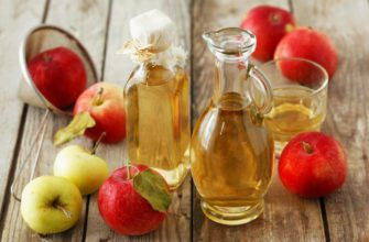 Натуральный яблочный уксус