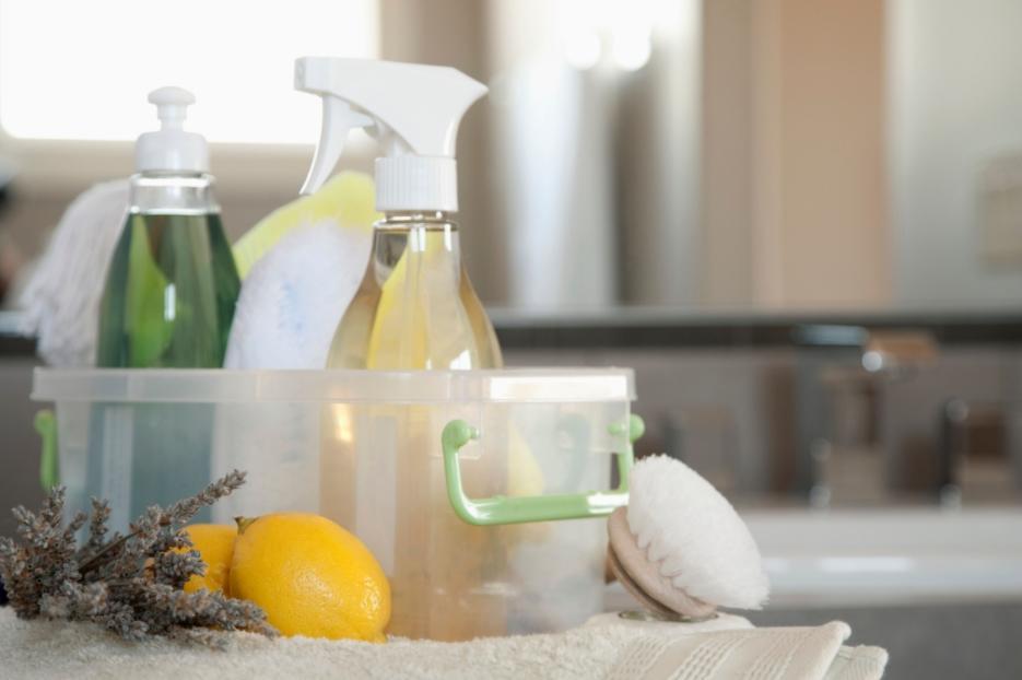 экологичные средства для уборки и стирки
