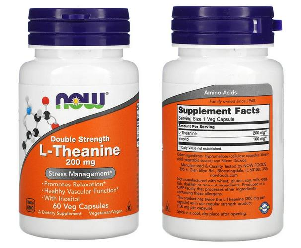 L-Theanine Now Foods