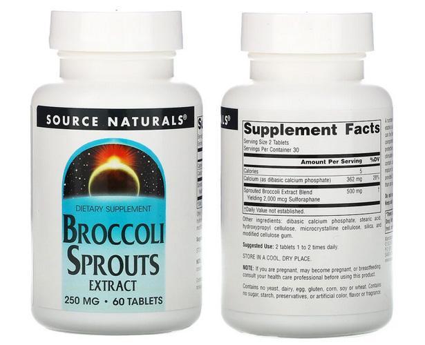 экстракт брокколи айхерб