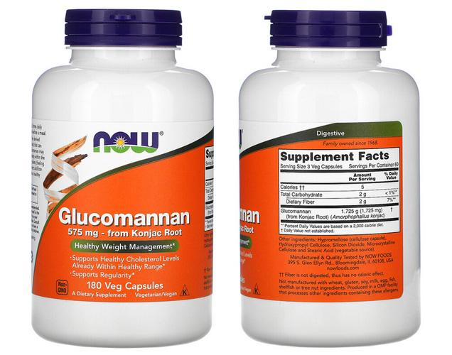 глюкоманнан капсулы iherb
