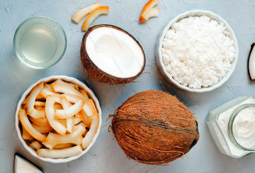 кокос сушеный