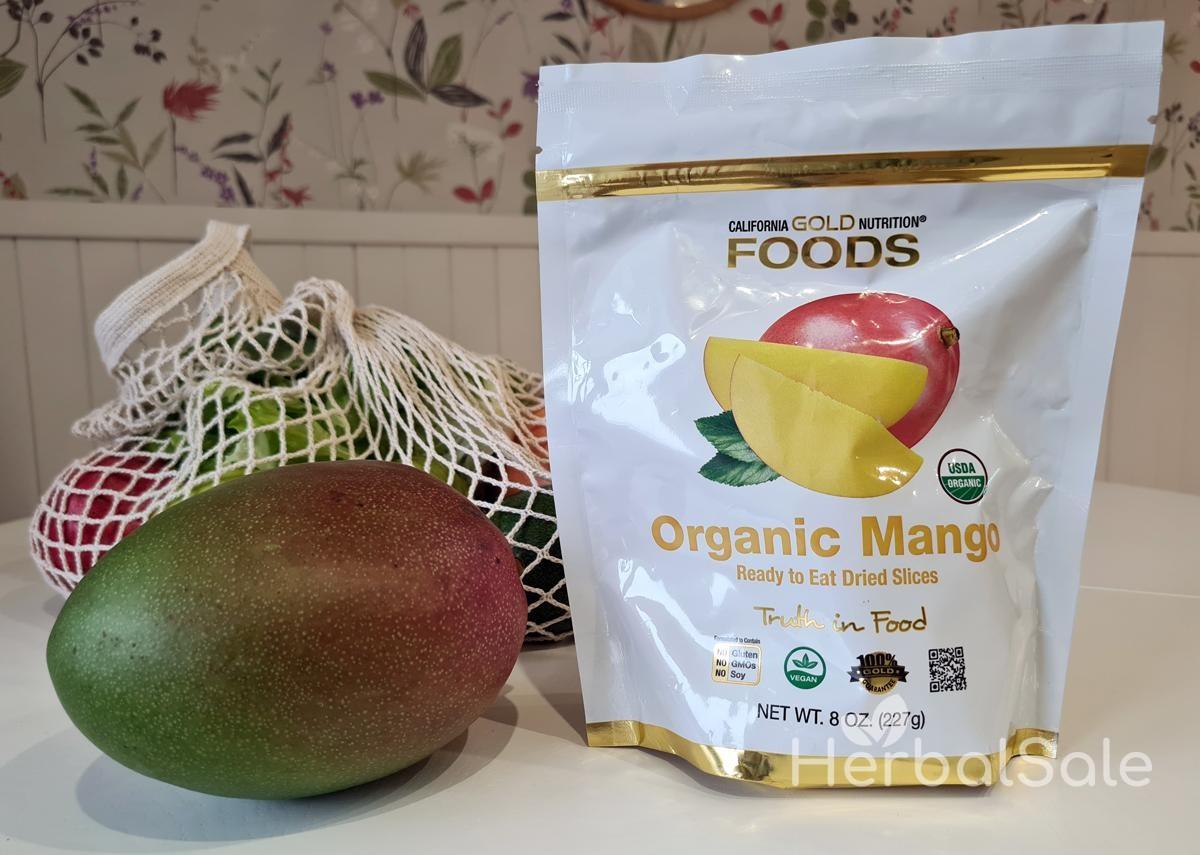 манго сушеное без сахара