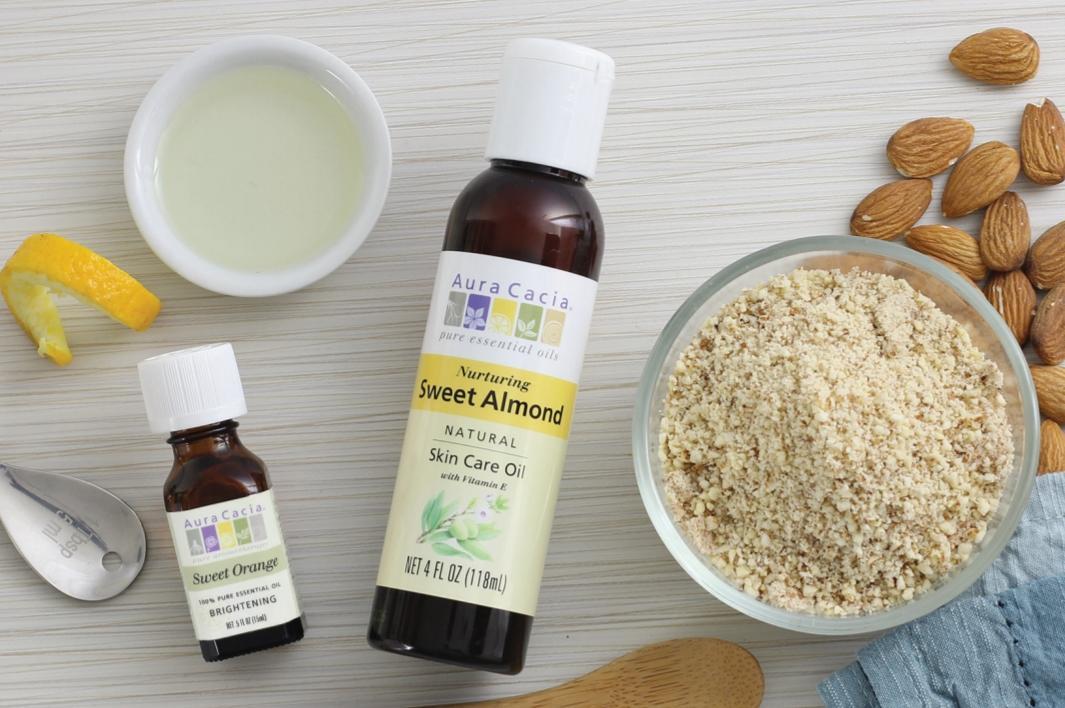 миндальное масло для кожи