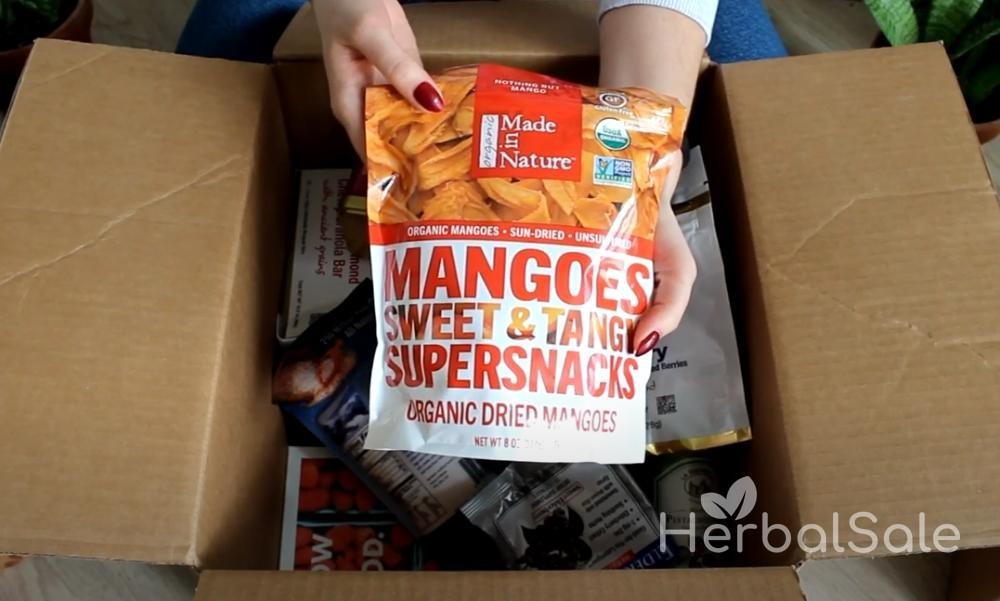 сушеное манго iherb польза