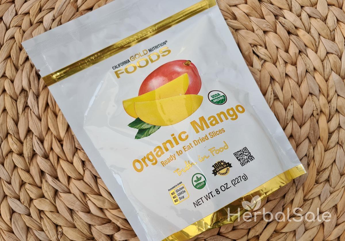 сушеное манго калорийность