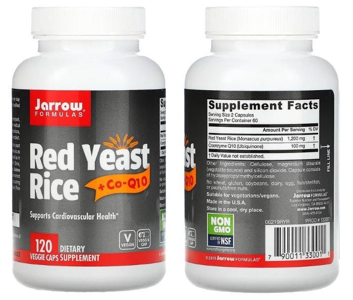 красный рис Jarrow Formulas
