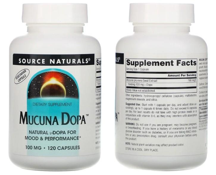 мукуна Source Naturals