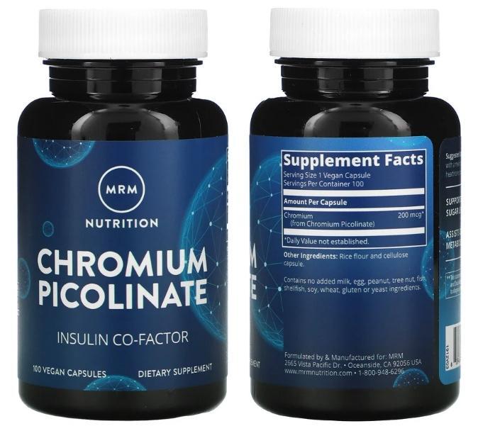 пиколинат хрома Nutrition MRM