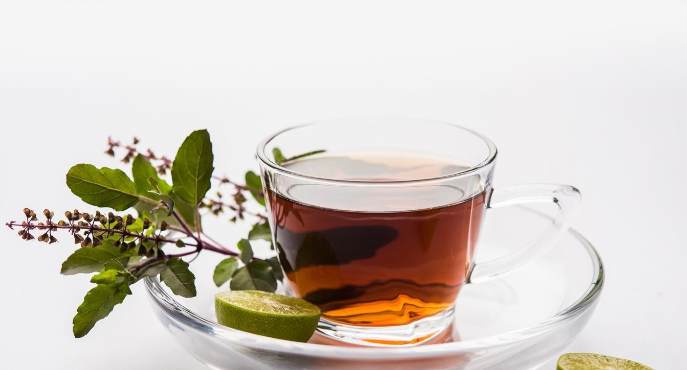 чай с базиликом