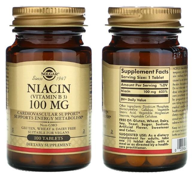 витамин В3 в таблетках