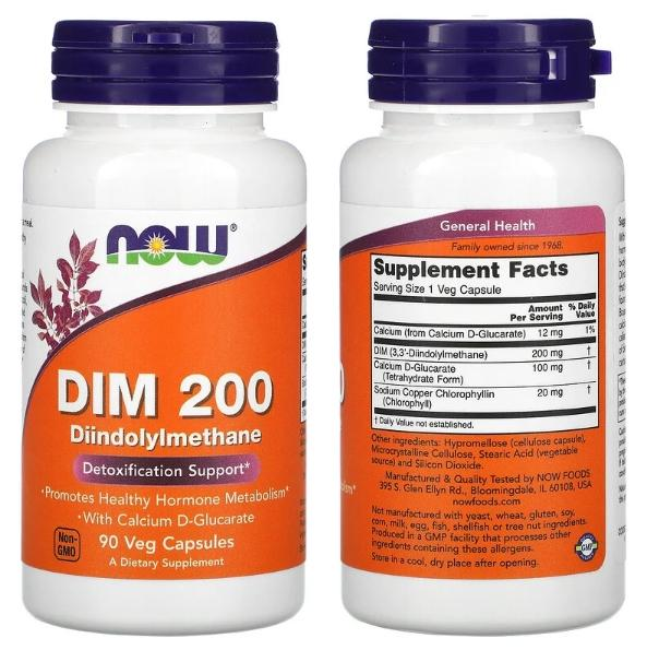 дииндолилметан Now Foods