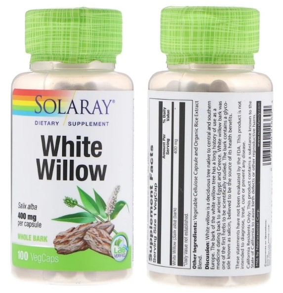 ива белая Solaray