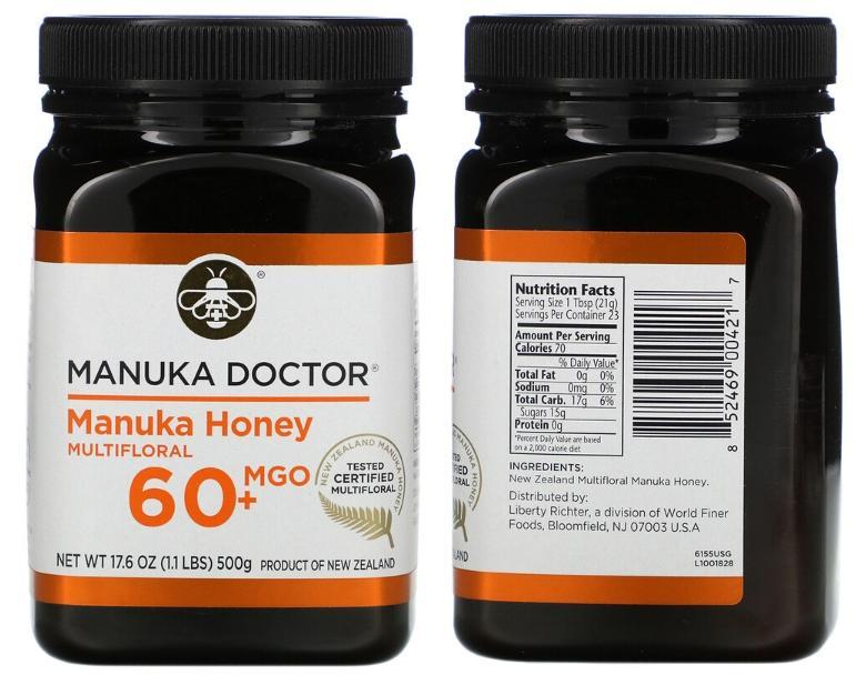 мед манука Manuka Doctor