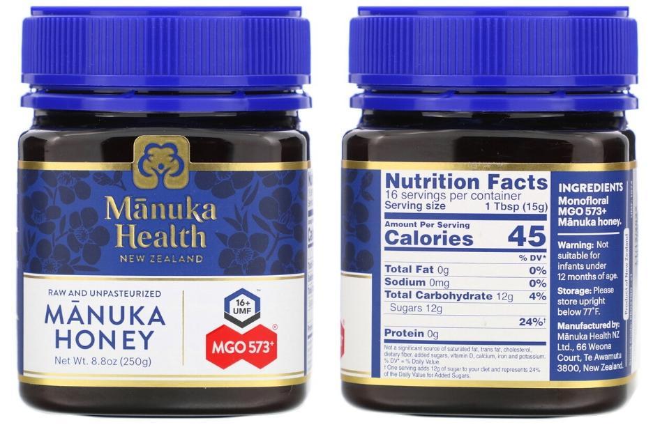 мед манука Manuka Health