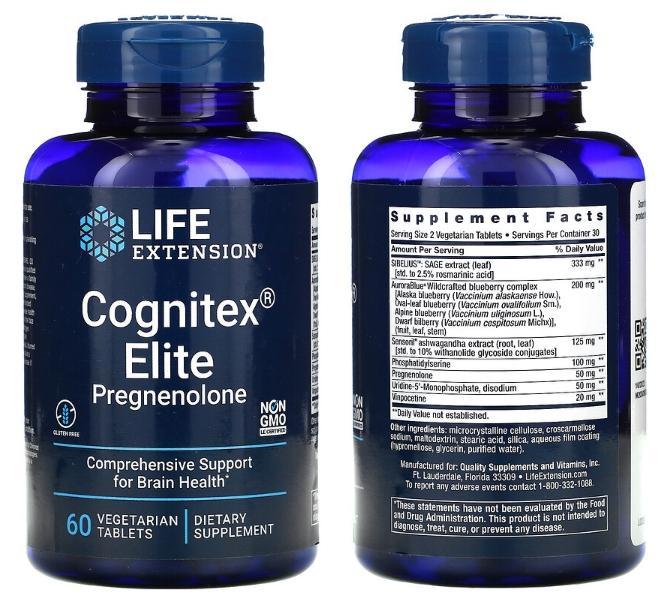 прегненолон Elite Cognitex