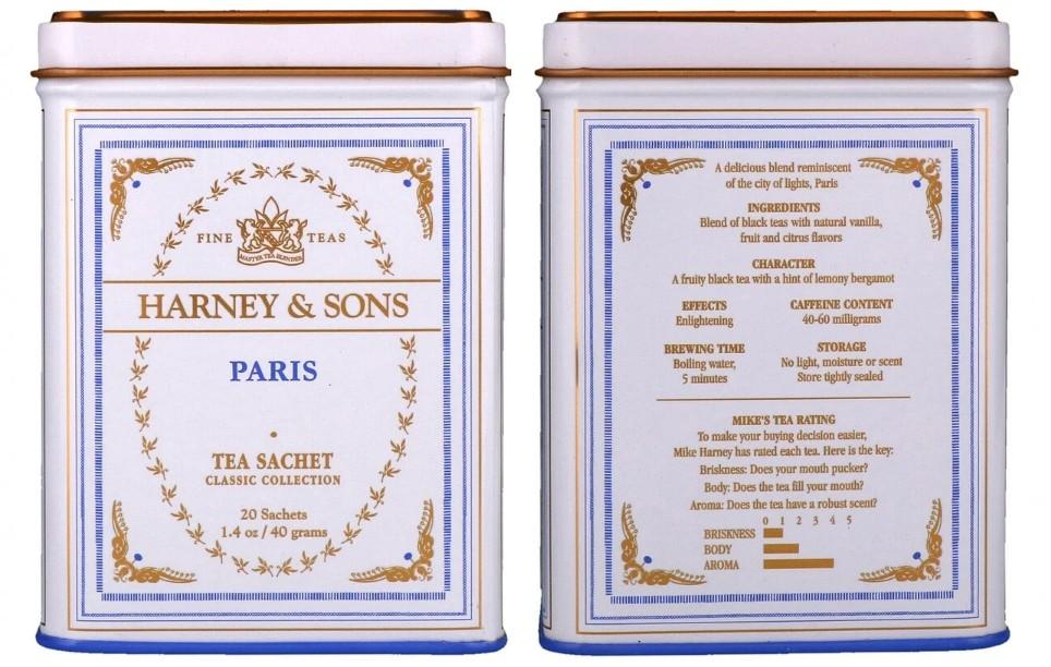 Парижский чай Harney & Sons