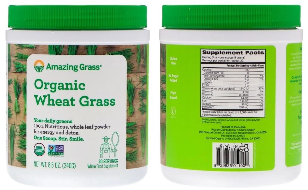 Порошок витграсса Amazing Grass