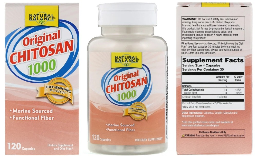 Хитозан Natural Balance