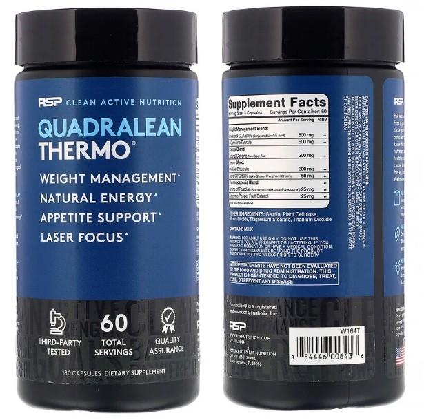 Комплекс Quadralean Thermo от RSP Nutrition