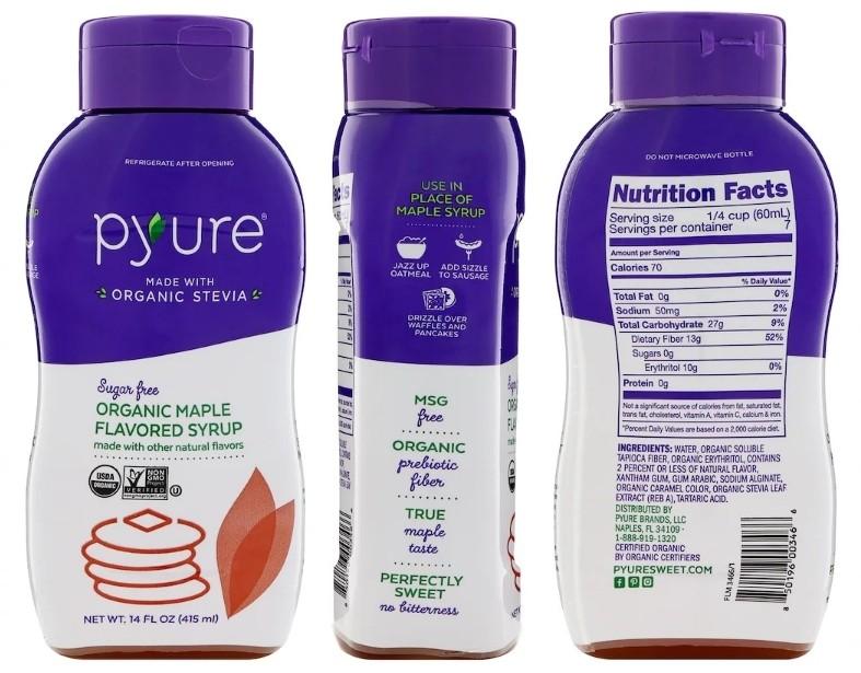 Органический кленовый сироп Pyure